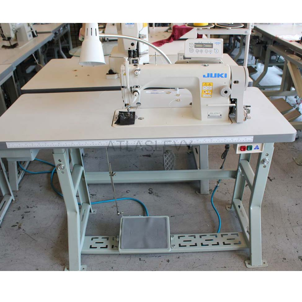 hight resolution of automatic single needle juki sewing machine with servo motor model 8700 7 complete