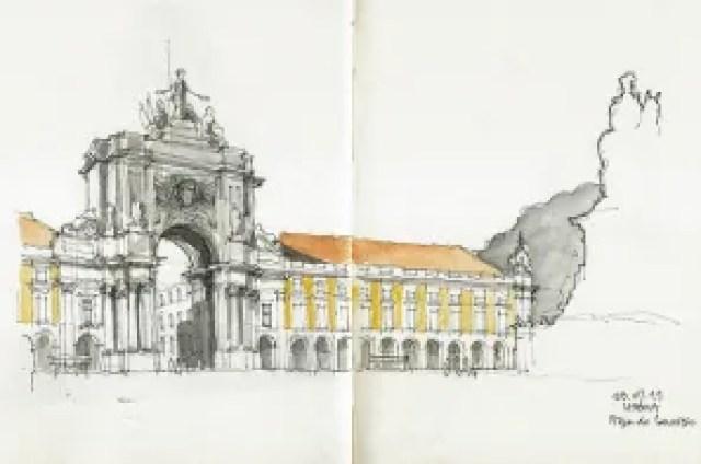 Lisbon by Urban Sketchers