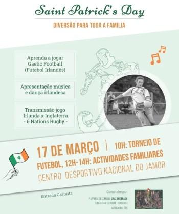 SPORTS & FAMILY EVENT | Gaelic Football Match | Cruz Quebrada | FREE @ Centro Desportivo Nacional do Jamor - CDNJ | Cruz Quebrada | Portugal