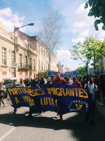 May Day Lisboa 2018 Immigration
