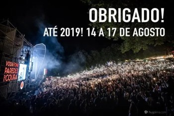 To Aug 17 Music Festival Vodafone Paredes De Coura 2019 Viana