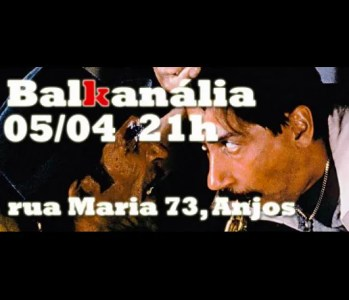 MUSIC | Balkanália, back at BUS | Intendente | FREE @ BUS - Paragem Cultural | Lisboa | Portugal