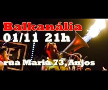MUSIC | Balkanália at BUS | Intendente | FREE - 1,50€