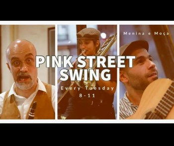 to Mar 26 | MUSIC | Pink St. Swing: The Invisible Tuba | Cais do Sodré | TBA€