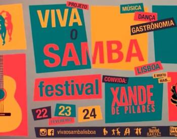 to Feb 25 | MUSIC | Festival Viva o Samba Lisboa | Cais do Sodré | 25-35€