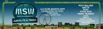 to Aug 10 | MUSIC FEST | MEO SUDOESTE 2019 | Zambujeira do Mar | 48-190€ @ Herdade da Casa Branca, Zambujeira do Mar | Zambujeira | Portugal