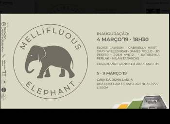 to Mar 9 | ART EXHIBIT | Mellifluous Elephant at Casa da Dona Laura | Campo de Ourique | FREE @ Casa da Dona Laura | Lisboa | Lisboa | Portugal