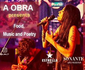 PERFORMANCE | Food, Music and Poetry at A Obra | Santos | TBD @ A Obra | Lisboa | Lisboa | Portugal