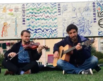 to July 27 | STREET MUSIC | Gypsy Jazz Jam Get Together | Areeiro  | FREE @ Jardim Fernando Pessa  | Lisboa | Lisboa | Portugal