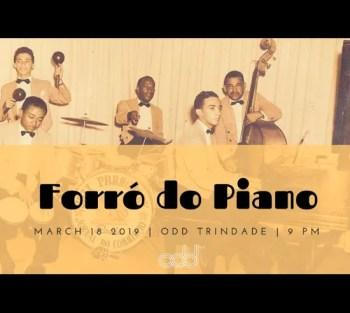 to Apr 8 | MUSIC | Forró do Piano at ODD | Baixa Chiado | 4-5€ @ ODD Trinidade | Lisboa | Lisboa | Portugal