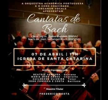 CLASSICAL CONCERT   Cantatas de Bach   Bairro Alto   FREE @ Igreja De Santa Catarina    Lisboa   Lisboa   Portugal