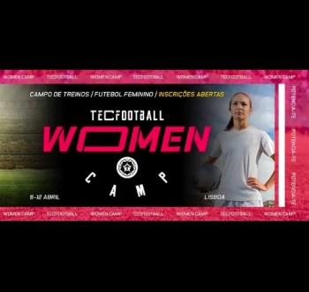 Register by Apr 8 | SPORTS | TecFootball: Women's Camp | Alcantara | TBD @ Estádio da Tapadinha | Lisboa | Lisboa | Portugal