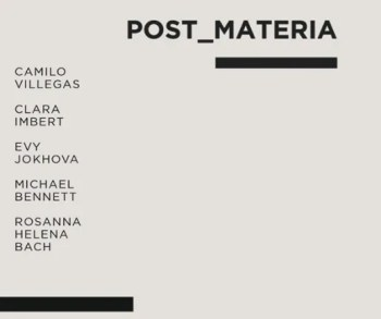 to May 19 | GROUP ART SHOW | Post_Materia | Marvila | FREE @ Tomaz Hipólito Studio | Lisboa | Lisboa | Portugal