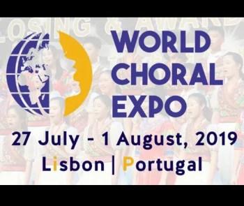 to Aug 1 | SINGING FESTIVAL | World Choral Expo 2019 | Lisbon | FREE @ Lisbon | Lisbon | Lisbon | Portugal