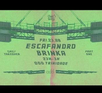 DJ PARTY | Chili Takeover: Part 1 | Chiado | 5€ @ ODD Trindade | Lisboa | Lisboa | Portugal