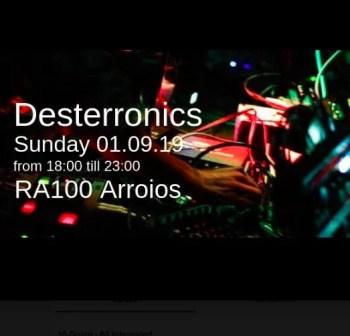LIVE MUSIC | Desterronics at RA 100 | Arroios | FREE @ RA 100 Arroios | Lisboa | Lisboa | Portugal