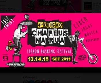 to Sept 15 | BUSKING FESTIVAL | Chapéus Na Rua #4 | Lisbon | FREE @ VARIOUS LOCATIONS | Lisbon | Lisbon | Portugal