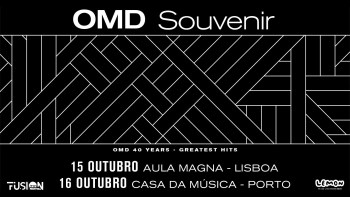 CONCERT | Orchestral Manoeuvres In The Dark | Alameda | 26€ - 37€ @ Aula Magna | Lisboa | Lisboa | Portugal