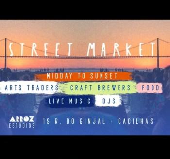 STREET MARKET | Arroz Studios Sunday Street Market | Cacilhas | FREE @ Arroz Estúdios | Lisboa | Setúbal | Portugal