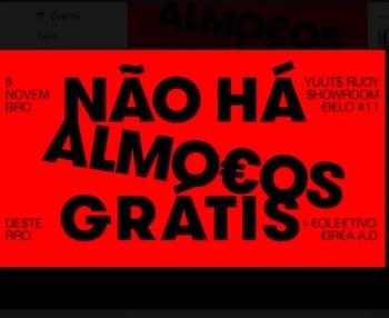 MULTIMEDIA PARTY | CICLO #1.1: No Free Lunches | Intendente | 3-6€ @ Desterro | Lisboa | Lisboa | Portugal