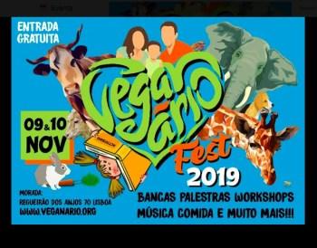 to Nov 10 | FESTIVAL | Veganário Fest 2019 | Anjos | FREE @ Regueirão dos Anjos 70, 1150-030 Lisboa, Portugal | Lisboa | Lisboa | Portugal