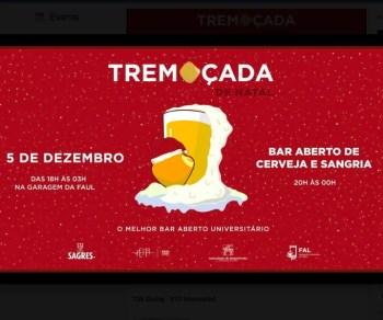 CHRISTMAS PARTY | Tremoçada de Natal 2019 | Alto da Ajuda | 4-7€ @ AEFA - Associação Estudantes Faculdade Arquitectura | Lisboa | Lisboa | Portugal