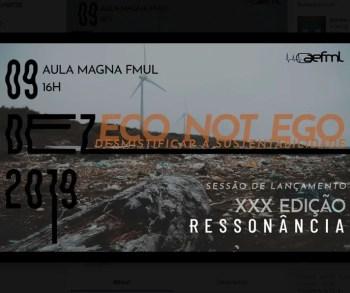 ENVIRONMENTAL DEBATE | Eco not Ego: Demystifying Sustainability | Campo Grande | FREE @ Aula Magna da Faculdade de Medicina de Lisboa | Lisboa | Lisboa | Portugal