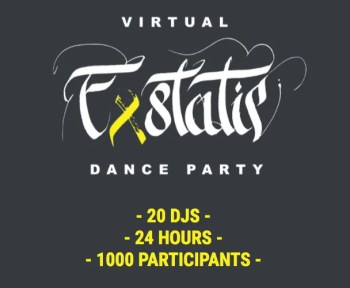 DJ AND DANCE PARTY | Virtual Exstatic Dance (#VED) | FREE | ONLINE