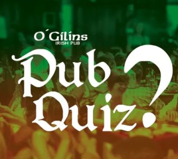 to May 17 | BI-WEEKLY ONLINE QUIZ NIGHT | O'Gilin's Irish Pub Quiz Night | FREE