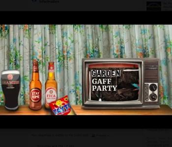 ONLINE PARTY | Garden Gaff Party #2 | ONLINE | FREE