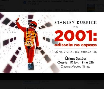 FILM | 2001: A Space Odyssey (Remastered) | Saldanha | 8€