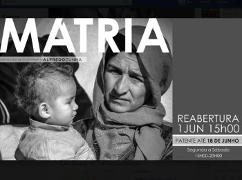 to Jun 18 | PHOTOGRAPHY EXHIBIT | Mátria by Alfredo Cunha | Chiado | FREE