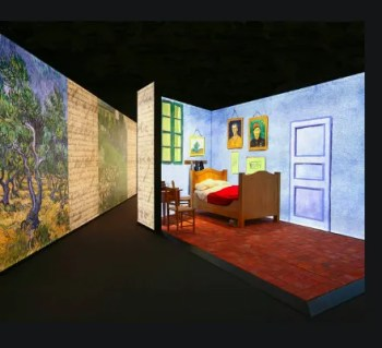 to Jan 3 | INTERACTIVE ART EXHIBIT | Meet Vincent Van Gogh | Belém | 9-15€