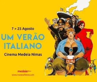 to Aug 25   FILM CYCLE   Um Verão Italiano   Saldanha   6€ @ Cinema Medeia Nimas   Lisboa   Lisboa   Portugal