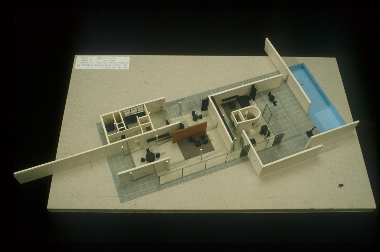 Mies Van Der Rohe Exhibition House Berlin Germany 1931