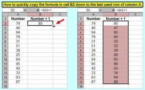 Tom's Tutorials For Excel: Fill Formula to Last Used Row | Microsoft ...