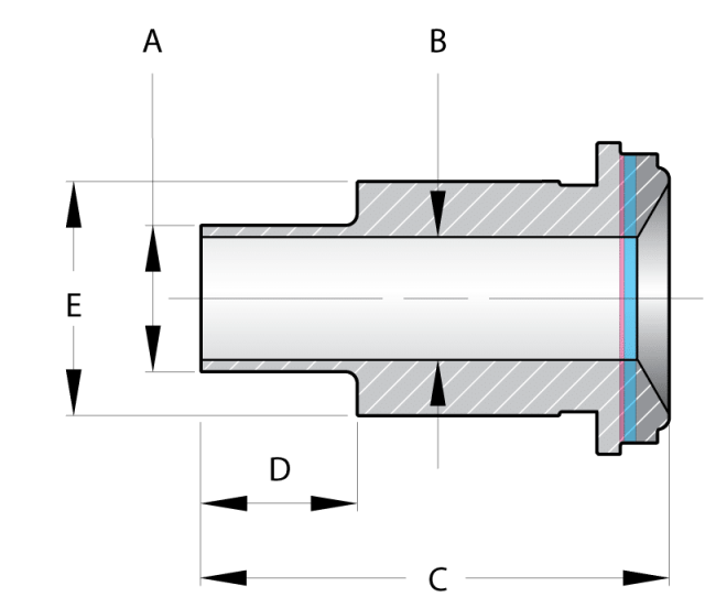 Size Size Metric Tube Od Socket A Id B Length C Male Tube Length D Shank Od E Part Number Files Actions