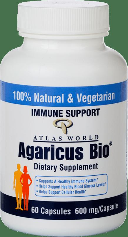 Agaricus Bio Wellness Powder Formula