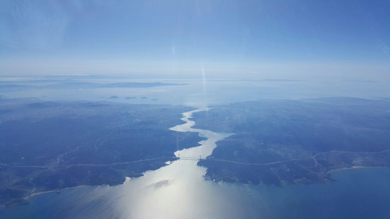 istanbul boğazı havadan görüntüler