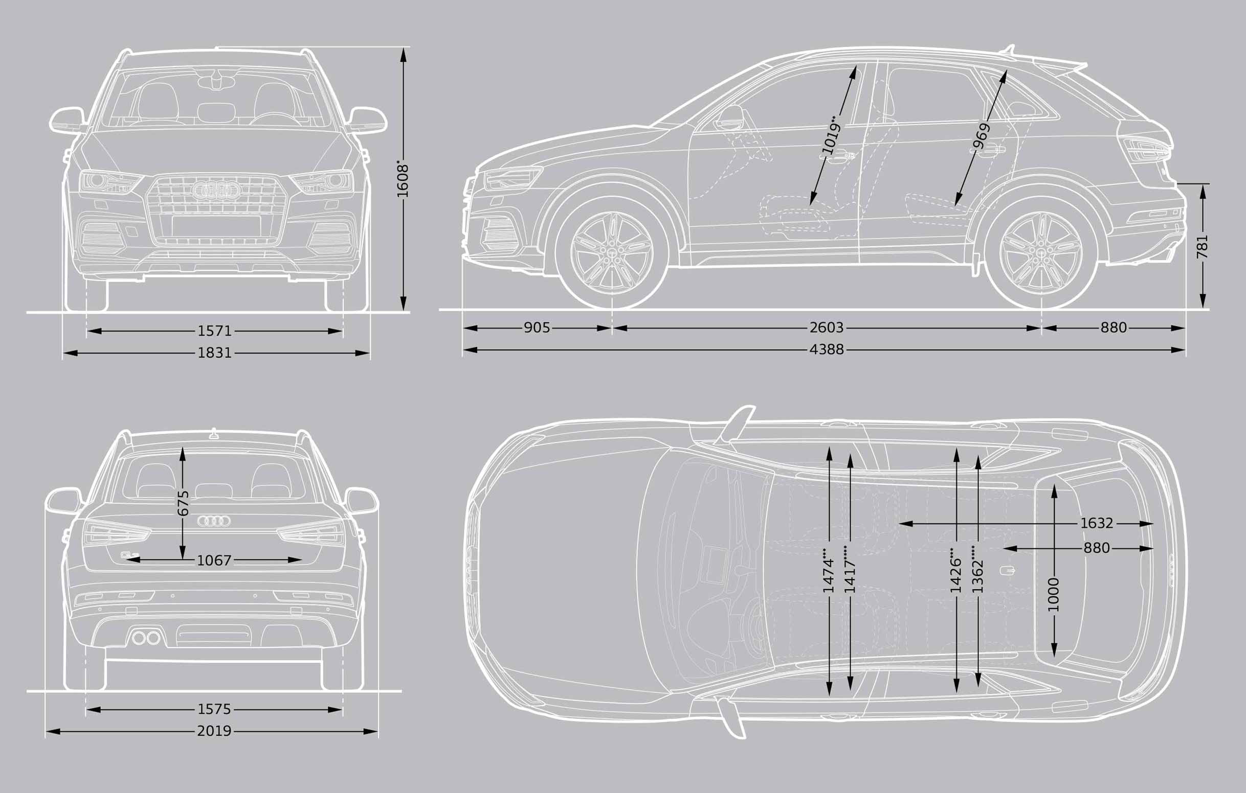Dimensions Q7 Dimensions Audi Cyprus Audi Q7 1 Fiche