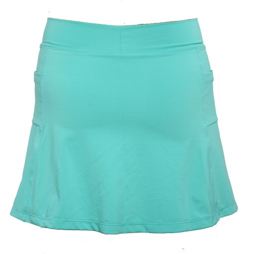 Athletic Skirt with Shorts - Carribbean