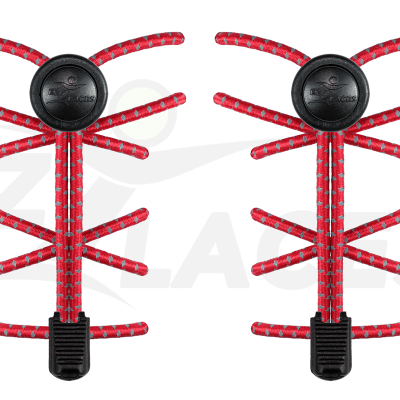 EZ Laces - Fire Engine Red