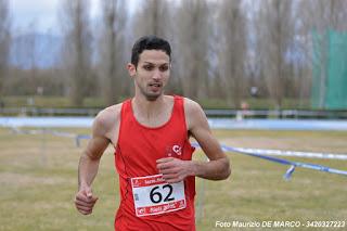 Nicolas Pavoni, 1 class. Cross Corto 3 km