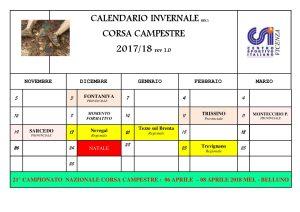 Calendario Csi.Calendario Campestri Csi Vicenza 2017 2018 Atletica