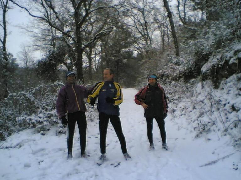 Neve al Passo del Lupo 28/01/2005