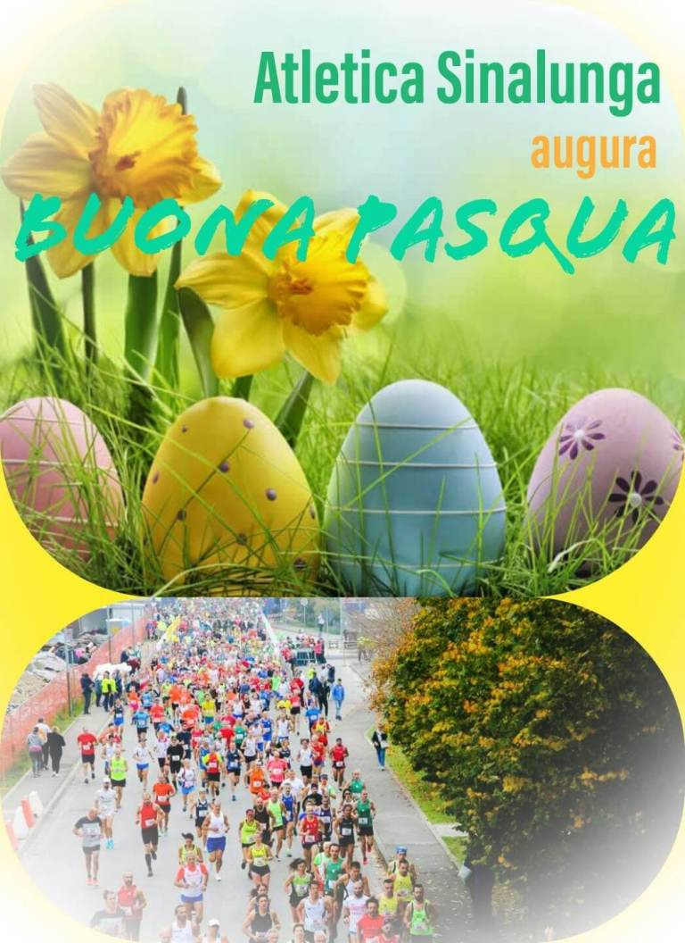 Atletica Sinalunga augura Buona Pasqua 2021