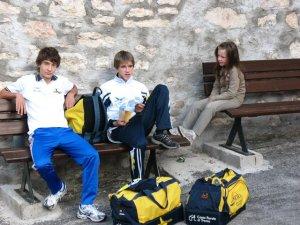 Tommaso Caldonazzi, Daniele Oss Cazzador e la piccola Maddalena
