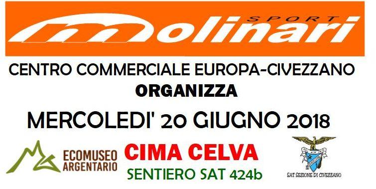 Mercoledì 20 giugno di corsa sul Monte Celva con Antonio Molinari