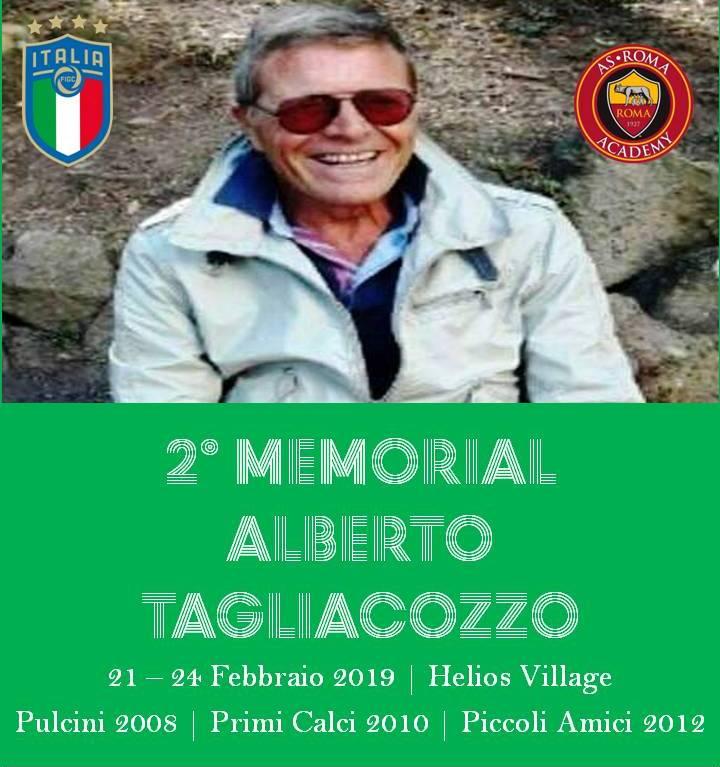 2° Memorial Alberto Tagliacozzo