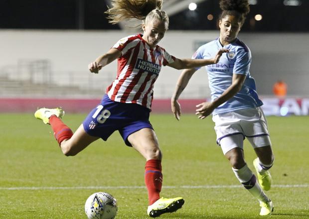 Declaraciones Tonni Duggan Atleti Femenino Manchester City